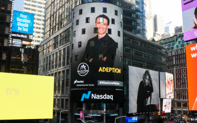 Adeption makes NASDAQ milestone!